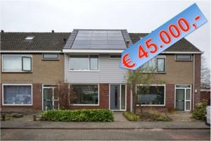 prototype van een vernieuwde energieleverende woning in Heerhugowaard
